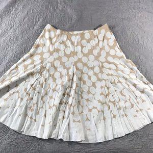 Emma James women's linen blend flare skirt 14W